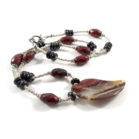 Multi Colored Jasper Necklace