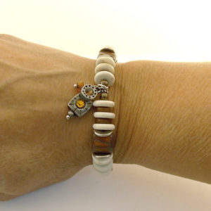 Burnt Orange Bracelet
