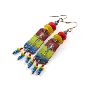 Rainbow of Colors Earrings